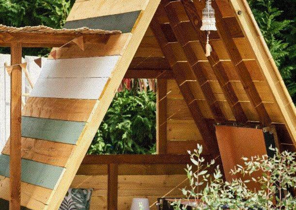 Une cabane en bois